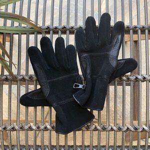 Black Naugahyde w Leather trim